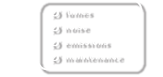 0 fumes, 0 noise, 0 emissions, 0 maintenance