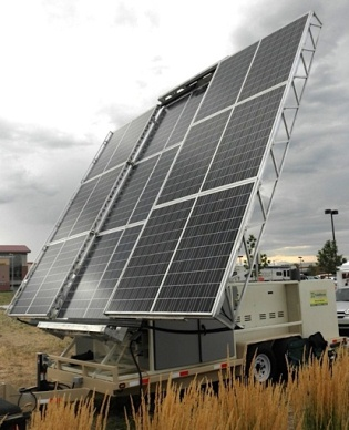Solarover Mobile Solar Power Systems Trailers